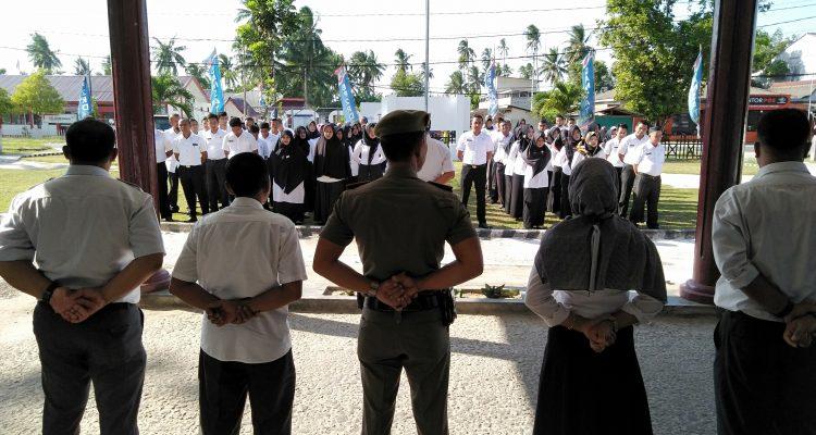 APEL PAGI BERSAMA   DALAM RANGKA SOSIALISASI PERBUP NATUNA NOMOR 8 TAHUN 2010