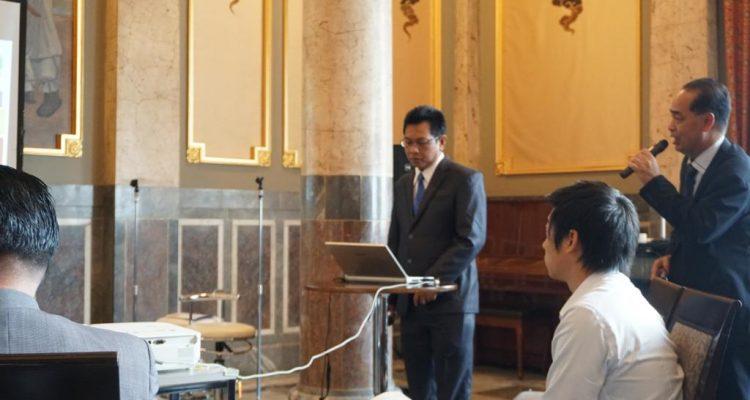 Keikutsertaan DPMPTSP Dalam Indonesia Japan Bussiness Forum Di Osaka Jepang