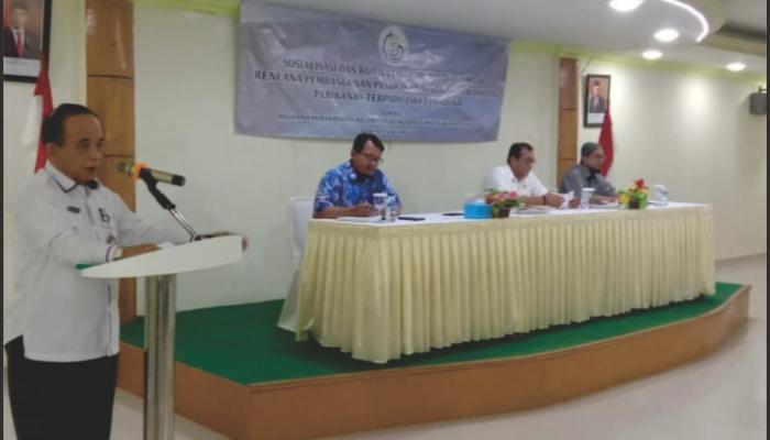 Asisten II Pemkab Natuna Buka Sosialisasi Amdal Pembangunan SKPT
