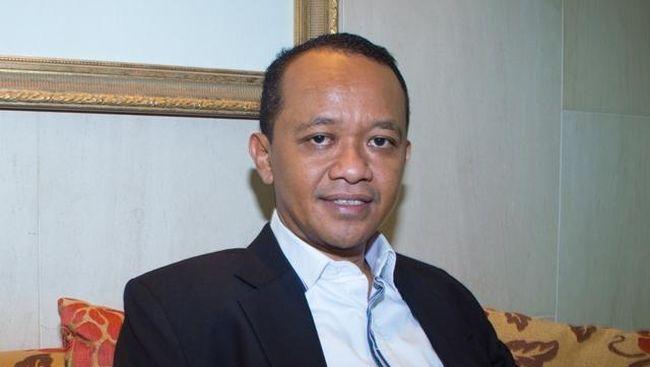 Jokowi Lantik Bahlil Lahadalia Jadi Menteri Investasi